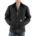 Carhartt Men's Sandstone Ridge Coat/Sherpa-Lined C6100